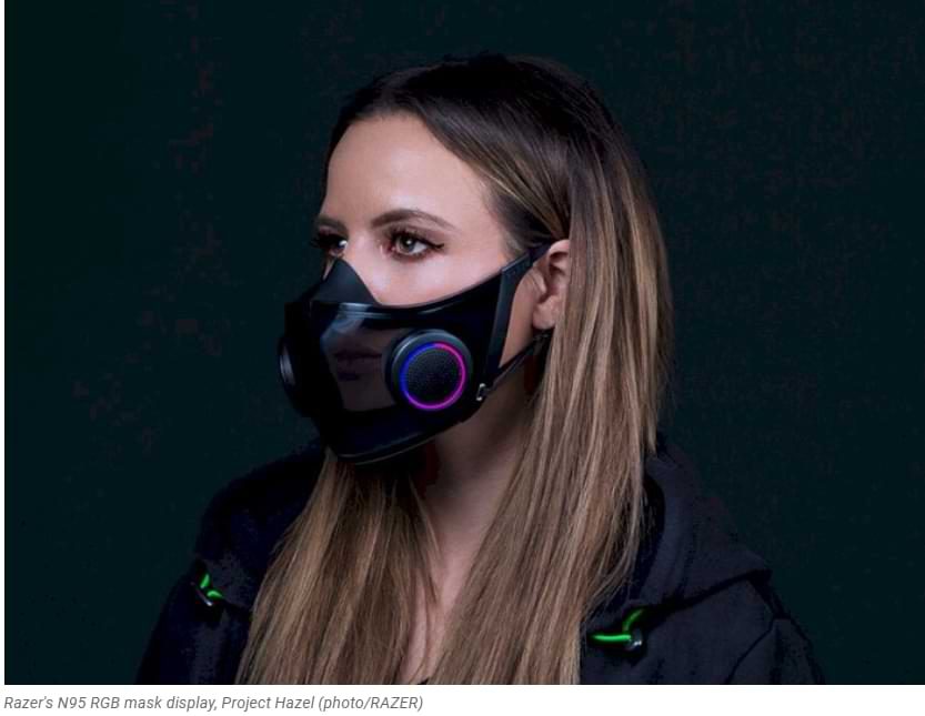 Razer Is Really Going To Sell Its RGB Masks In Q4 This Year