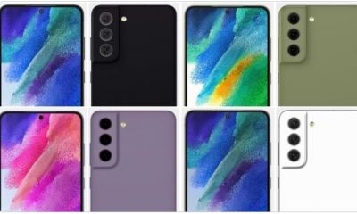 Renders of Samsung Galaxy S21 FE with New Color Variants Appear on the Internet