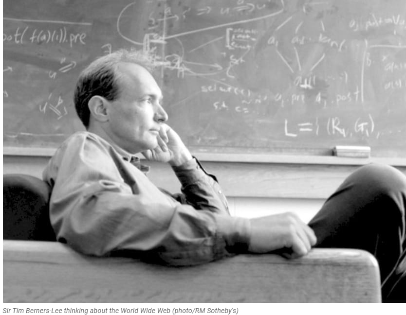 Source Code of the World Wide Web Sold As NFT by the Father of the Internet