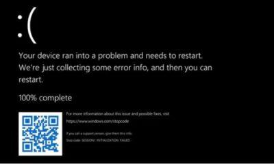 BSOD in Windows 11 Now Using Black