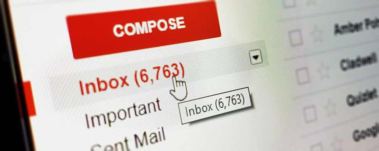 Easy Way to Clean Email from Spam Messages, Really Easy