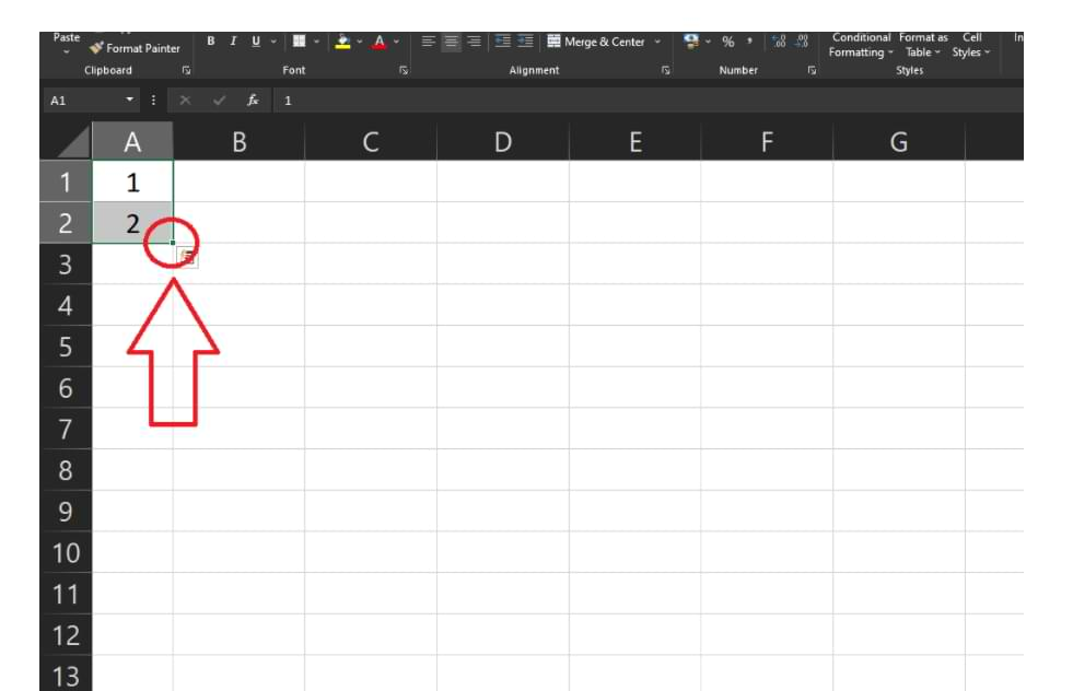 How To Create Sequential Numbers Automatically in Microsoft Excel