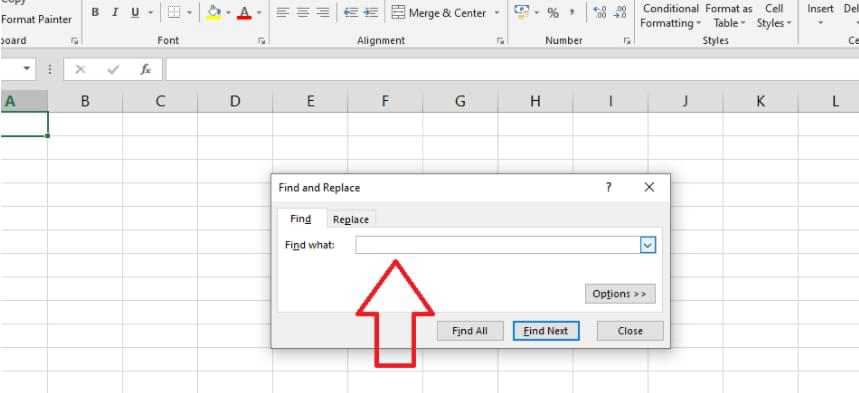 How To Find & Replace Feature in Microsoft-Excel
