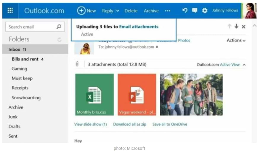 How to Add Files to an Email Message in Outlook