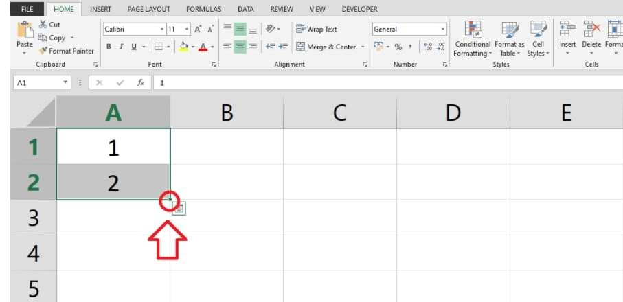 How to Create Automatic Serial Numbers in Excel