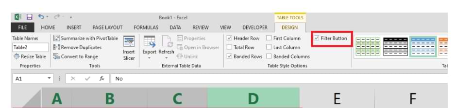 How to Create a Table in Microsoft Excel