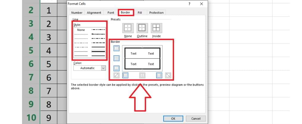 How to Make Bold Lines in Microsoft Excel