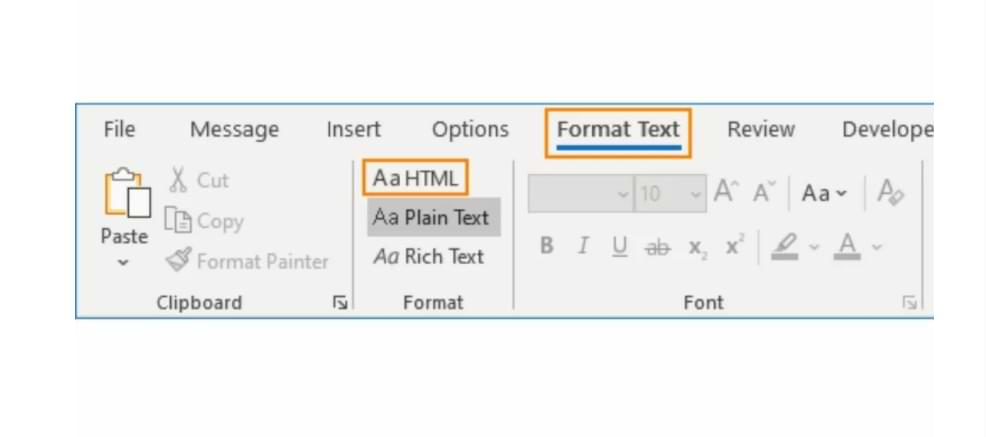 How to Send HTML Messages and Change Message Formats in Outlook