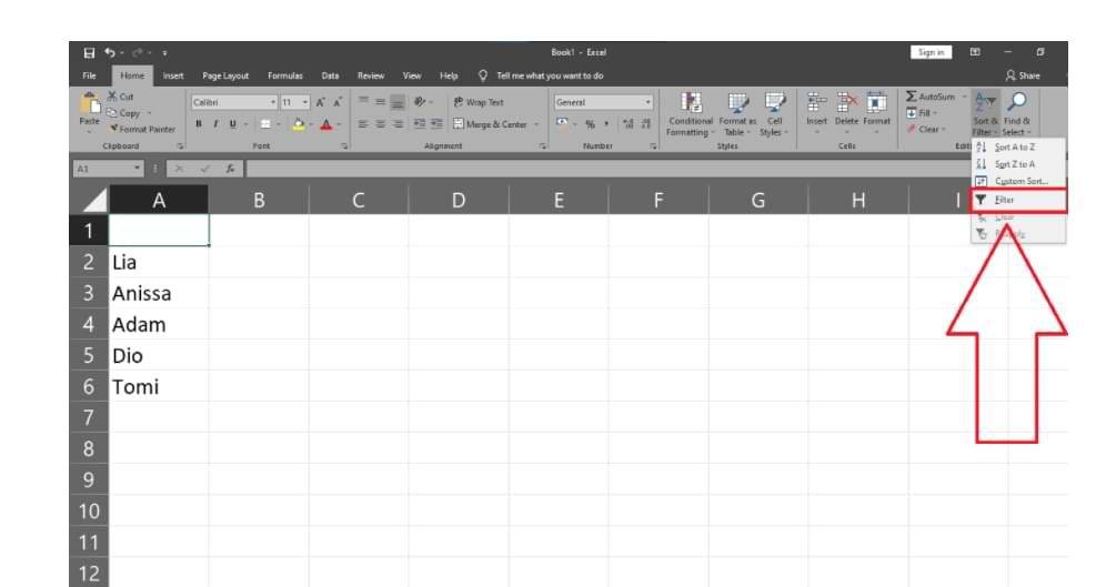 How to Sort Various Data in Excel Quickly