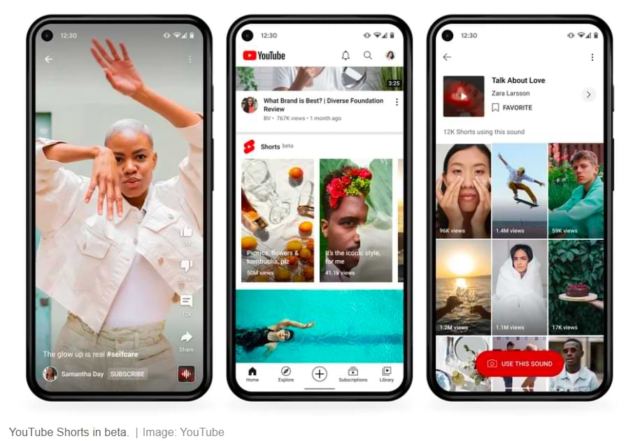 How to Upload YouTube Shorts Videos, New Features Similar to TikTok and Reels