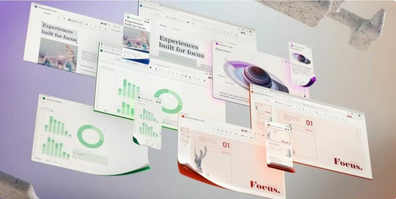 Microsoft Office Has a New, Futuristic UI