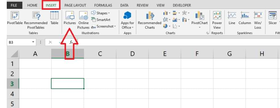 How to Add Images in Microsoft Excel