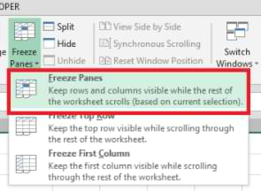 How to Freeze Panes Multiple Rows in Excel