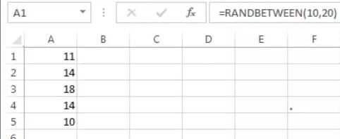 How to Generate Random Numbers in Microsoft Excel