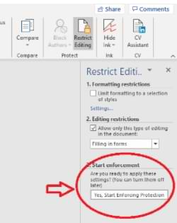 How to Make Microsoft Word Uneditable