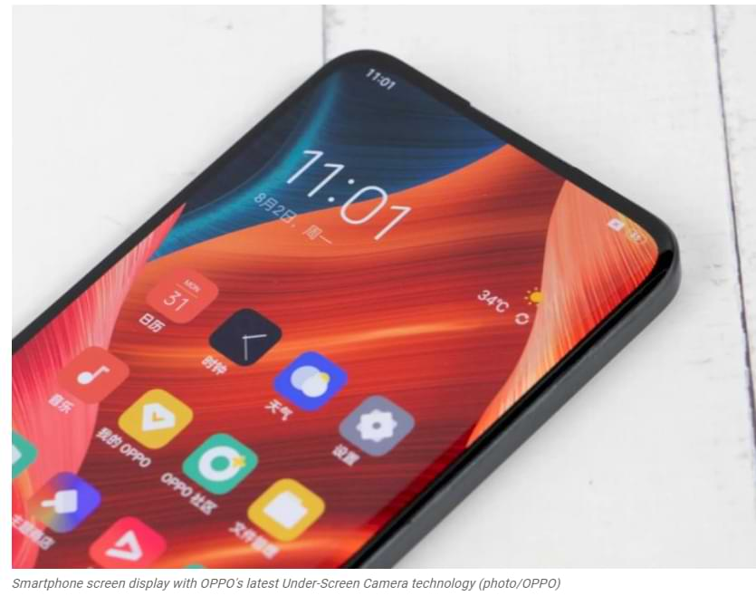 OPPO-Officially Announces Second Generation of Under-Display Selfie Camera Technology