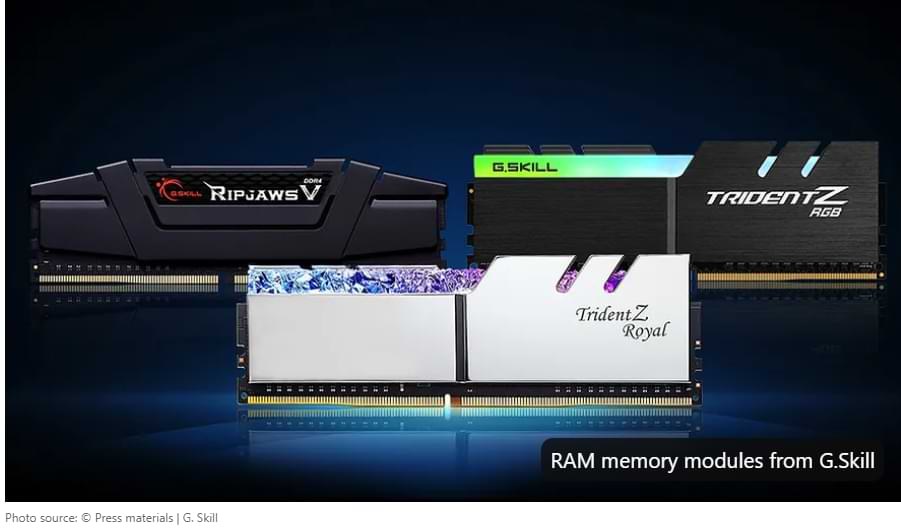 Positive changes on the market. RAM is finally getting cheaper