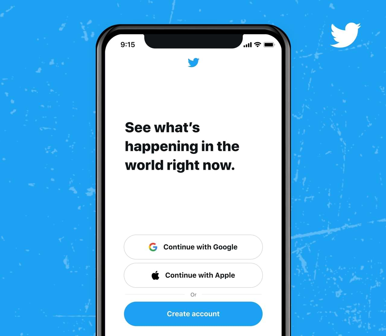 Starting Today, Log In to Twitter Can Already Use Google or Apple Accounts