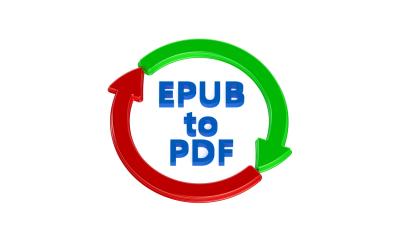 How to convert an ePub to PDF
