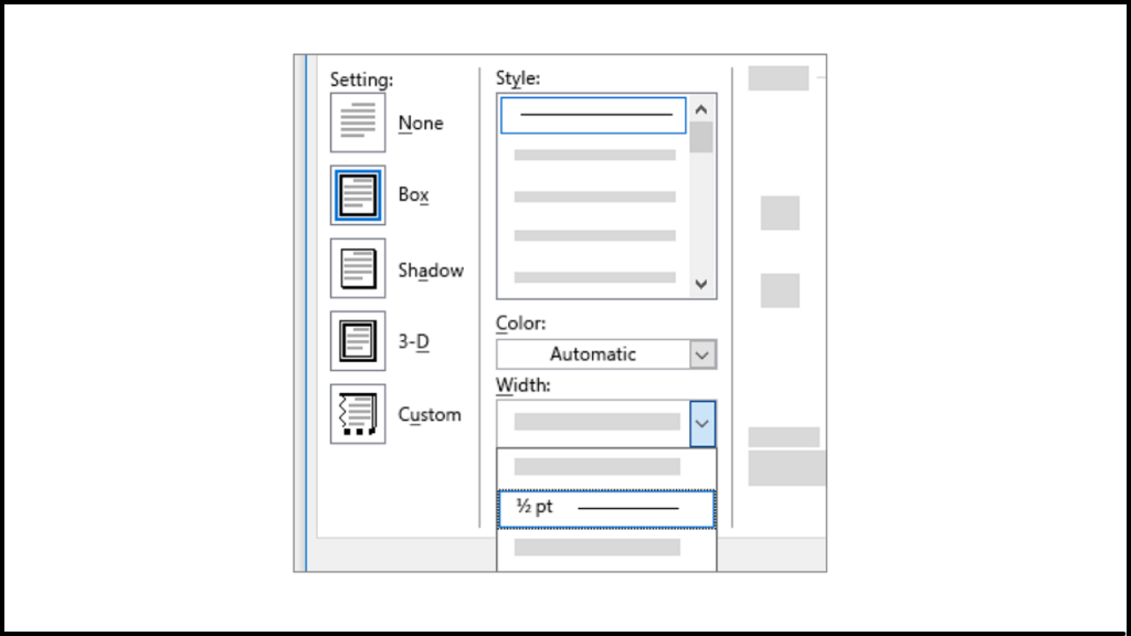 HOW TO CREATE A FRAME IN MICROSOFT WORD