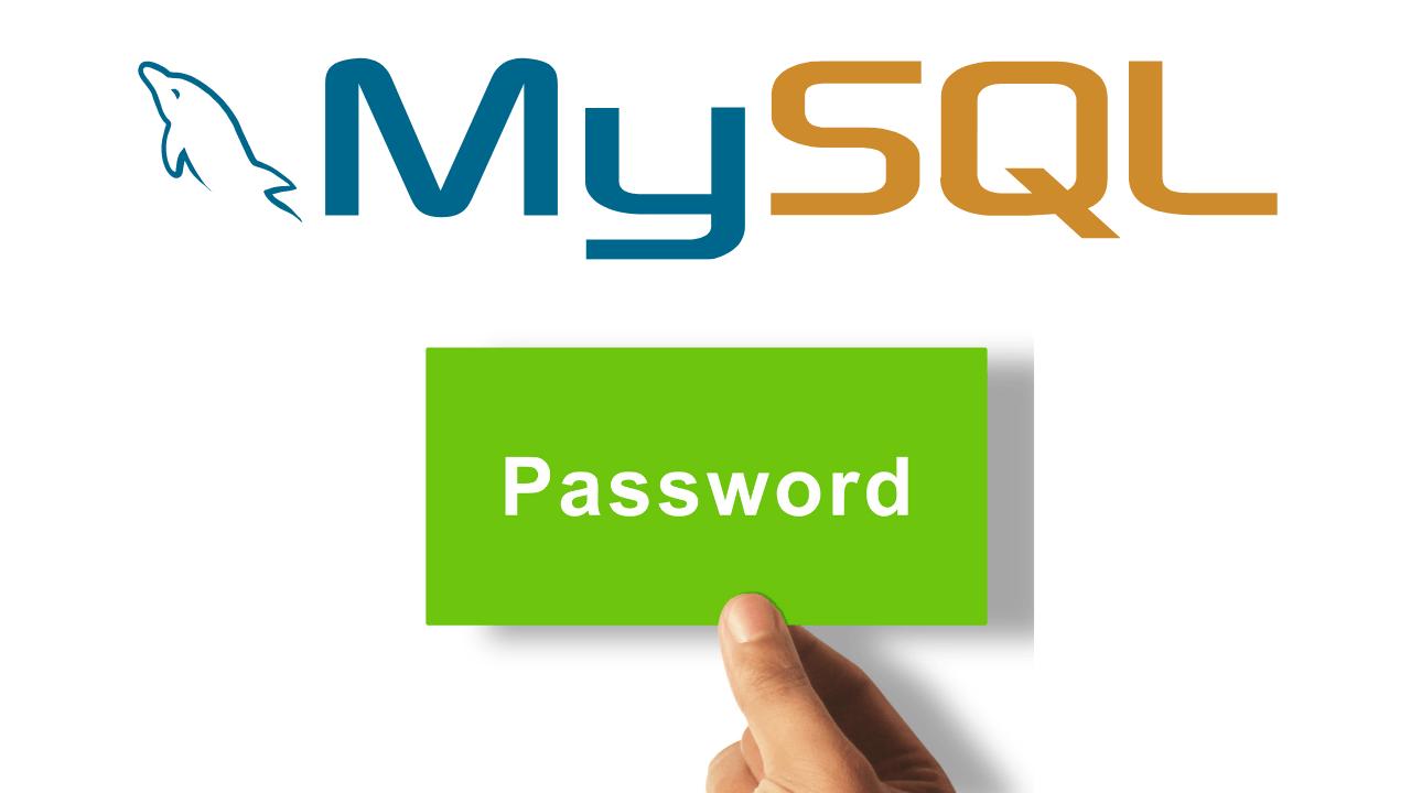 How To Reset Mysql Password