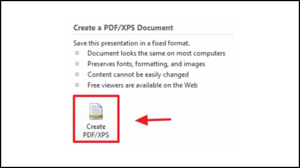 How to Convert PowerPoint to PDF with Microsoft
