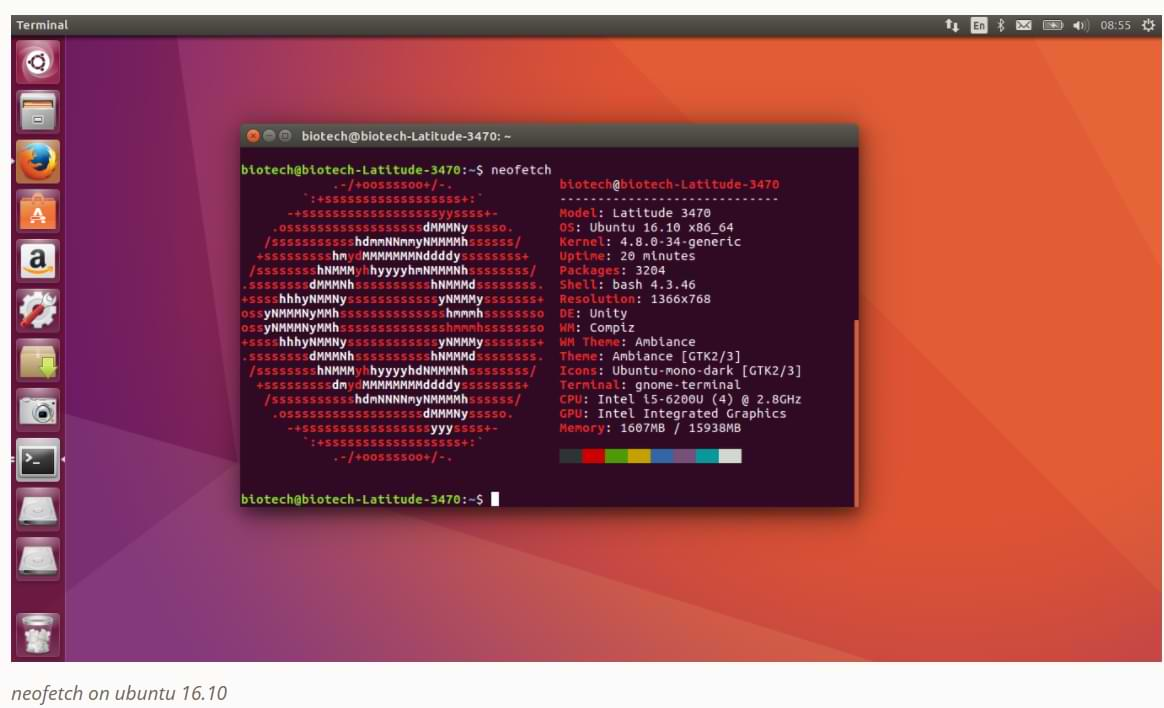 How to Install Neofetch in Linux Terminal with Repository