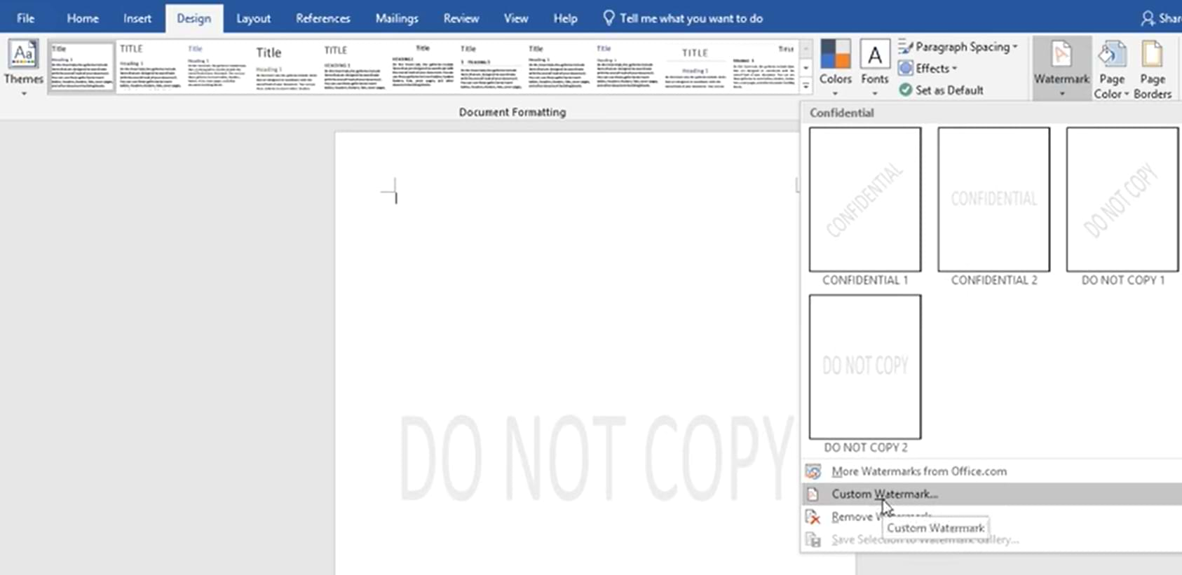 How to Make Watermark in Microsoft Word, Easy and Practical