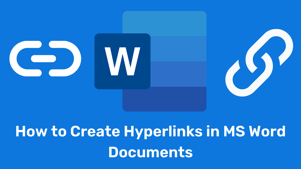 How to Remove Hyperlinks in Word