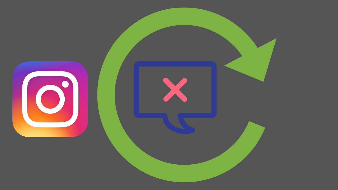 How to recover deleted messages from Instagram