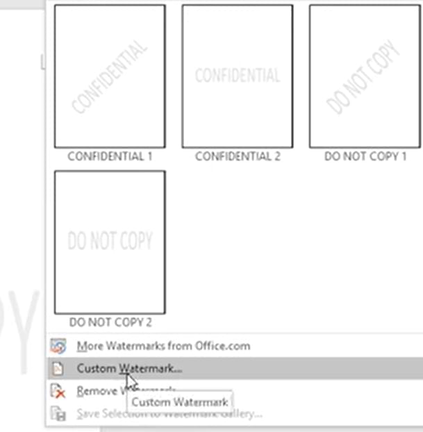 Make Watermark in Microsoft Word, Easy and Practical
