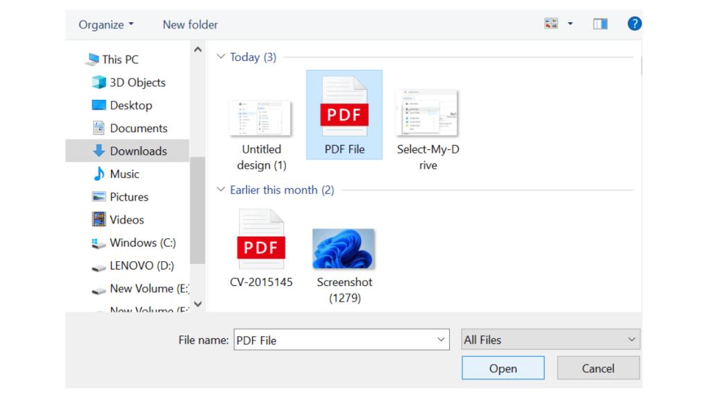 Translate PDF Files Using Google Drive