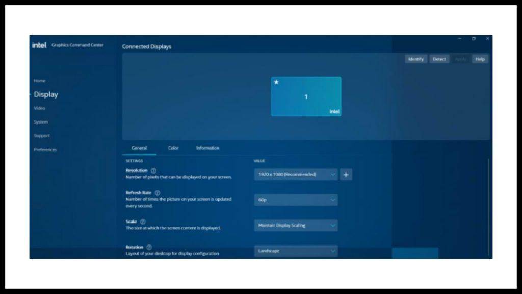 Check Intel HD Driver Version on Windows 10