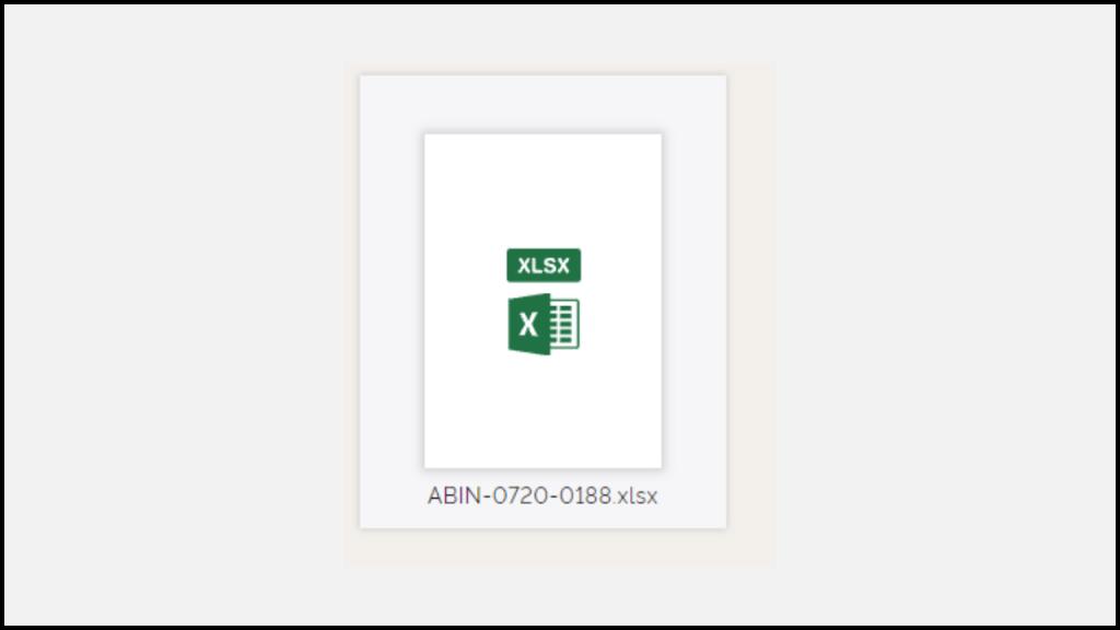 Convert Excel to PDF