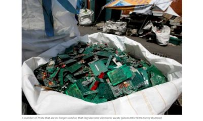 Electronic Waste is Predicted to Reach 57.4 Million Metric Tons in 202