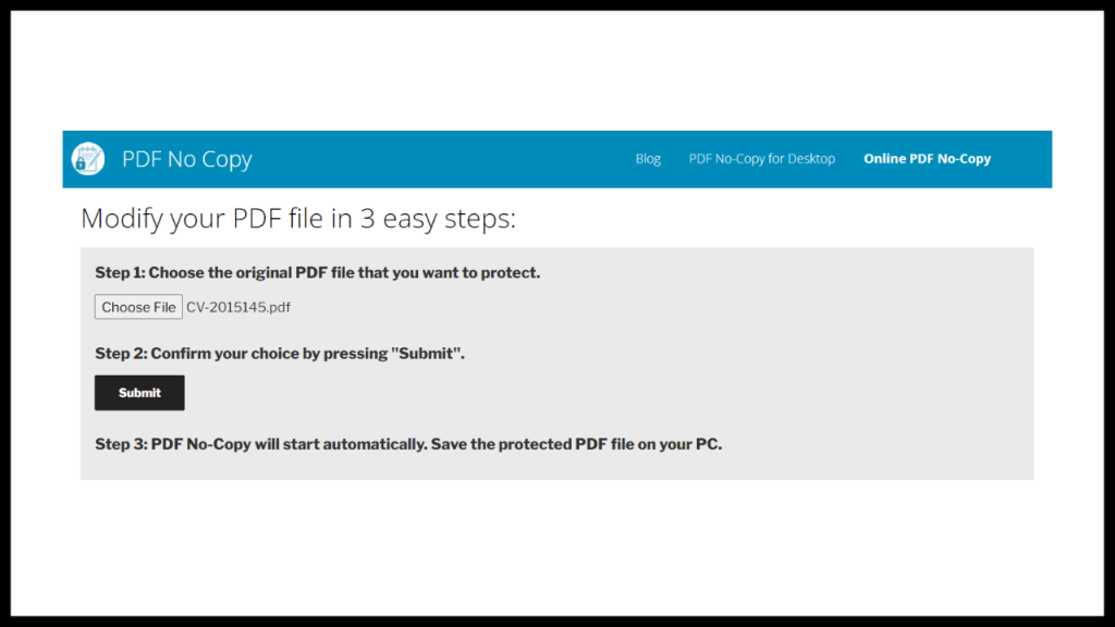 How To Lock A PDF So It Cannot Be Copied