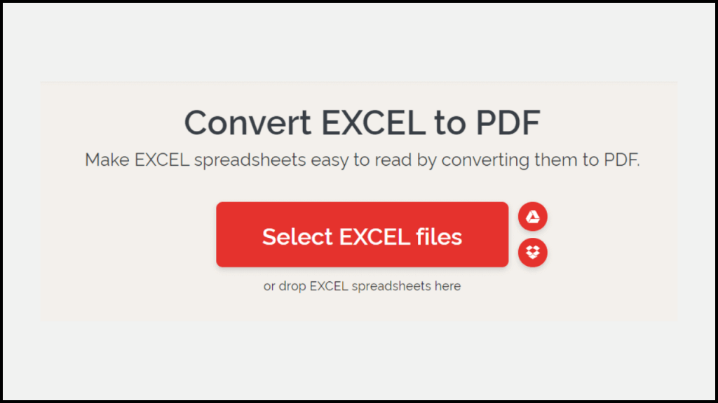 How to Convert Excel to PDF, Just Using Online Tools