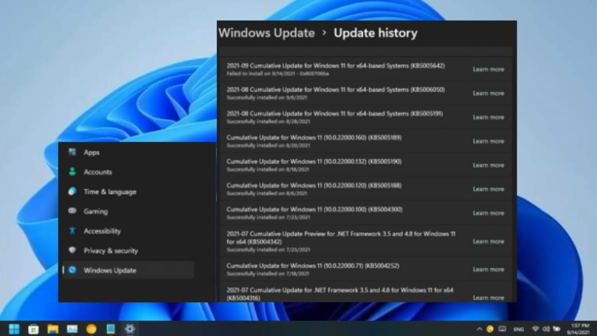How to View Update History in Windows 11