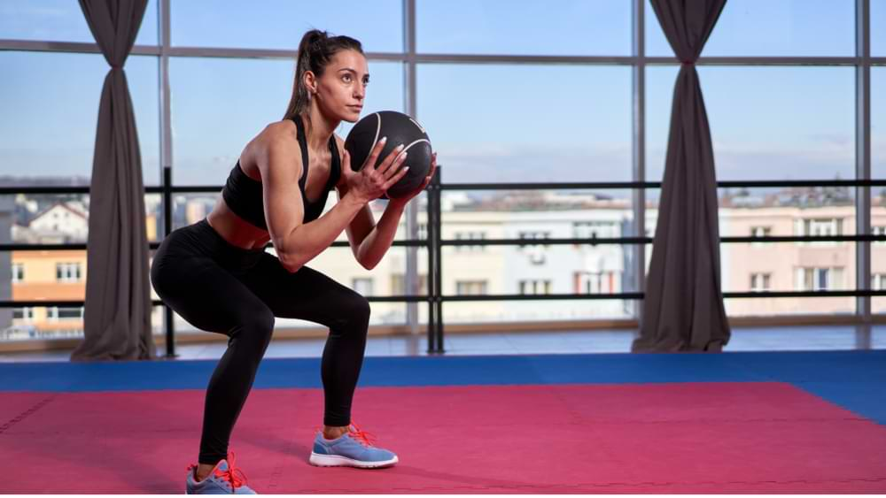 How to lift your breasts with ball exercises