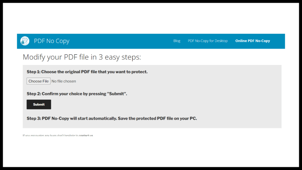 How to lock a PDF so that it cannot be copied