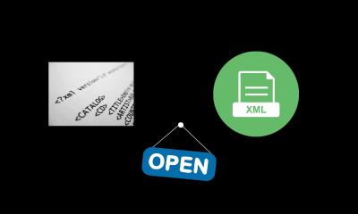 How to open XML files