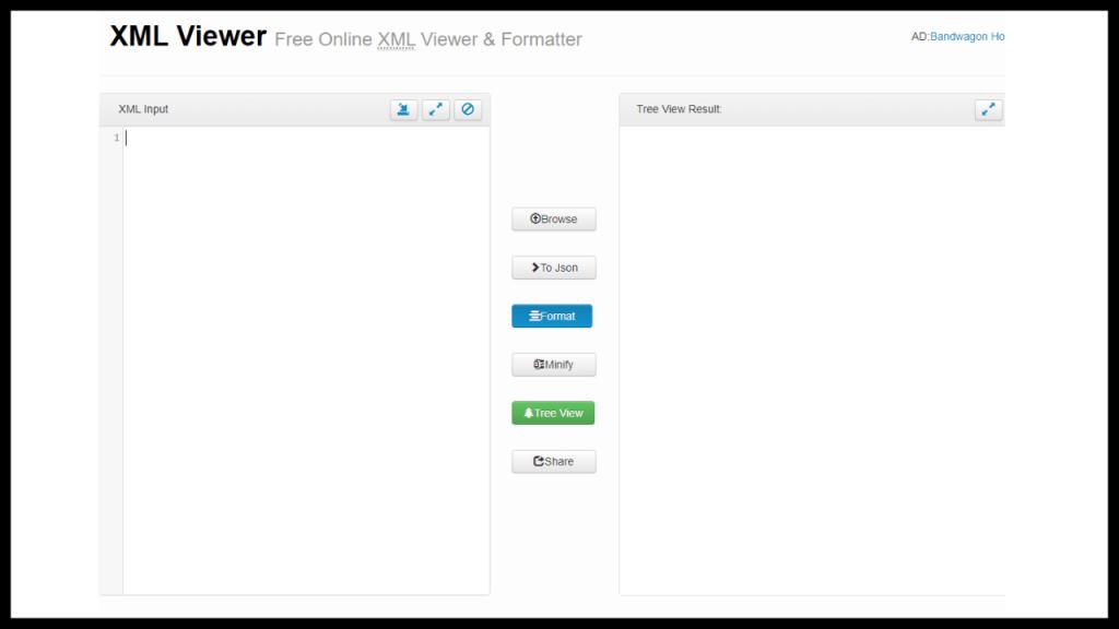 How to open XML files online