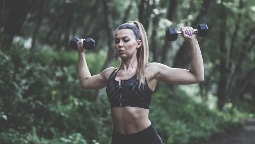 How to tighten your breasts with weights