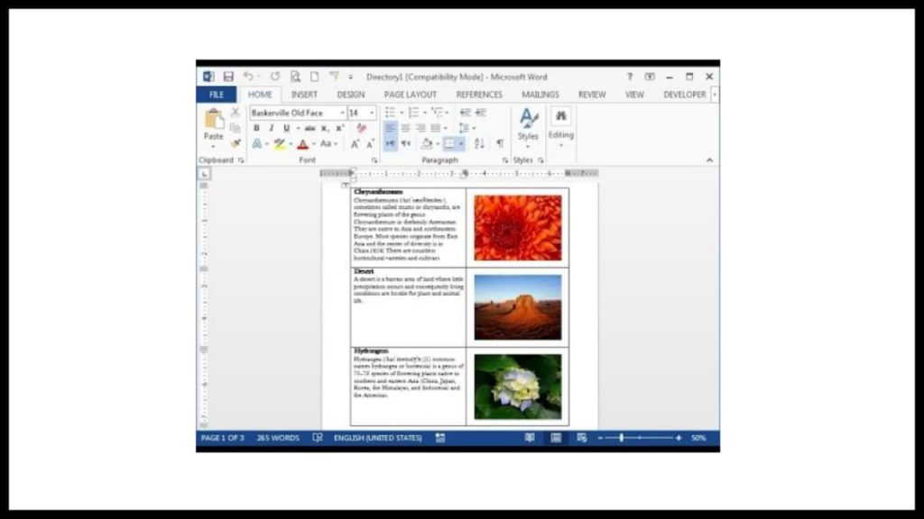 Make Mail Merge Images in Microsoft Word