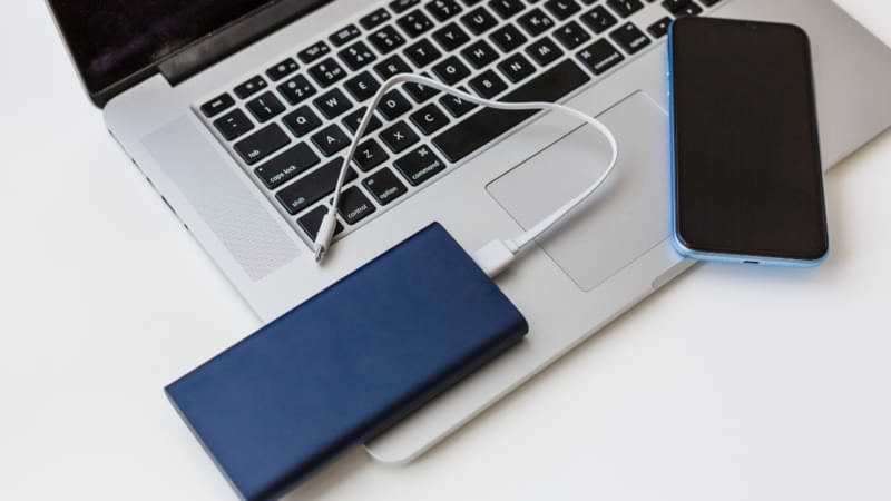 Power bank or laptop battery