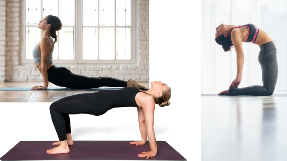 Yoga to tighten the breasts