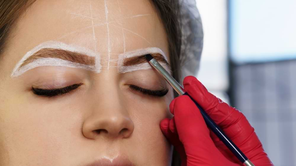how to use eyebrow soap